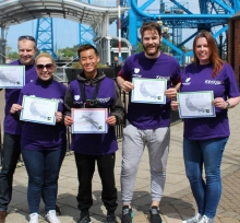 Abseiling Challenge Completed