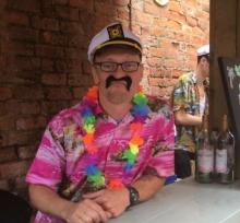 Happy Luke Nottingham Manager
