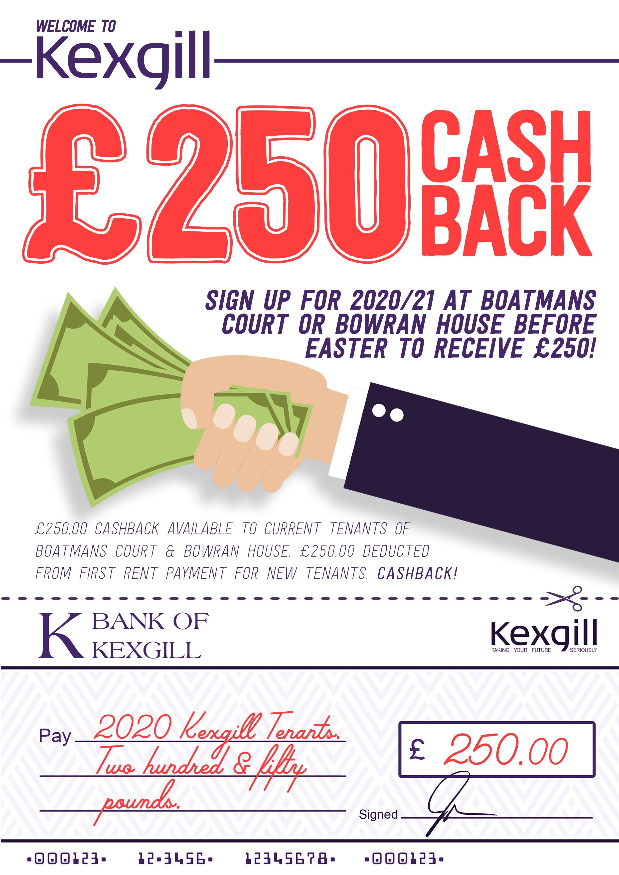 kexgill-cash-back-for-everyone-poster
